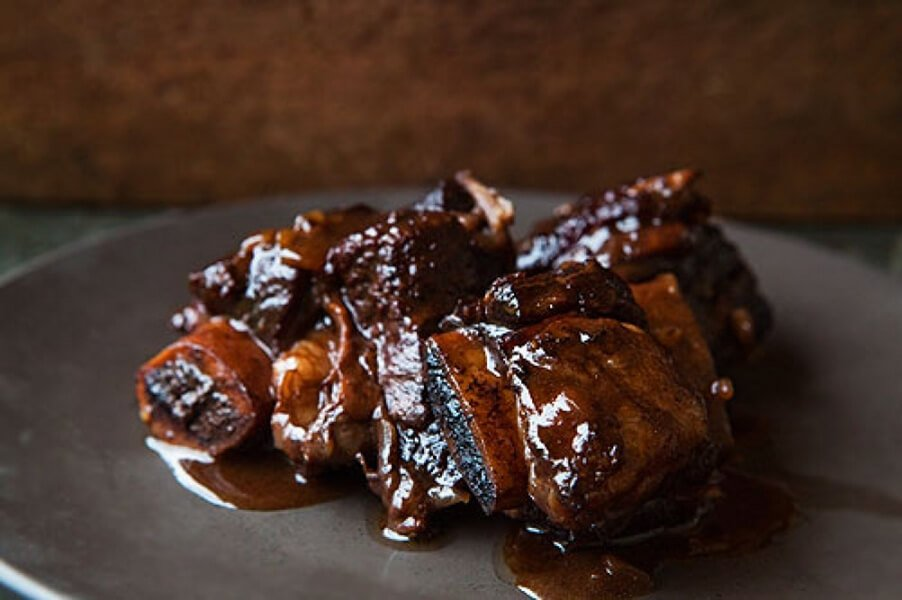 Italian Market Braised Beef Ribs in Red Wine Recipe