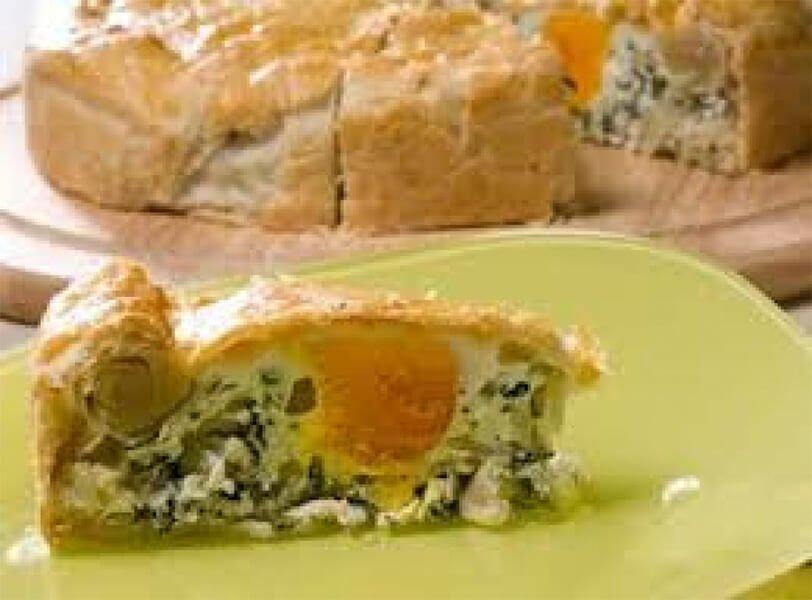 Italian Market Easter Torte (Quiche) Recipe
