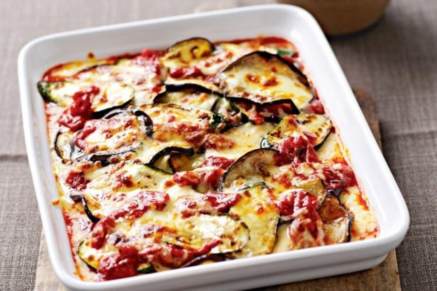Italian Market Eggplant and Zucchini Gratin Recipe