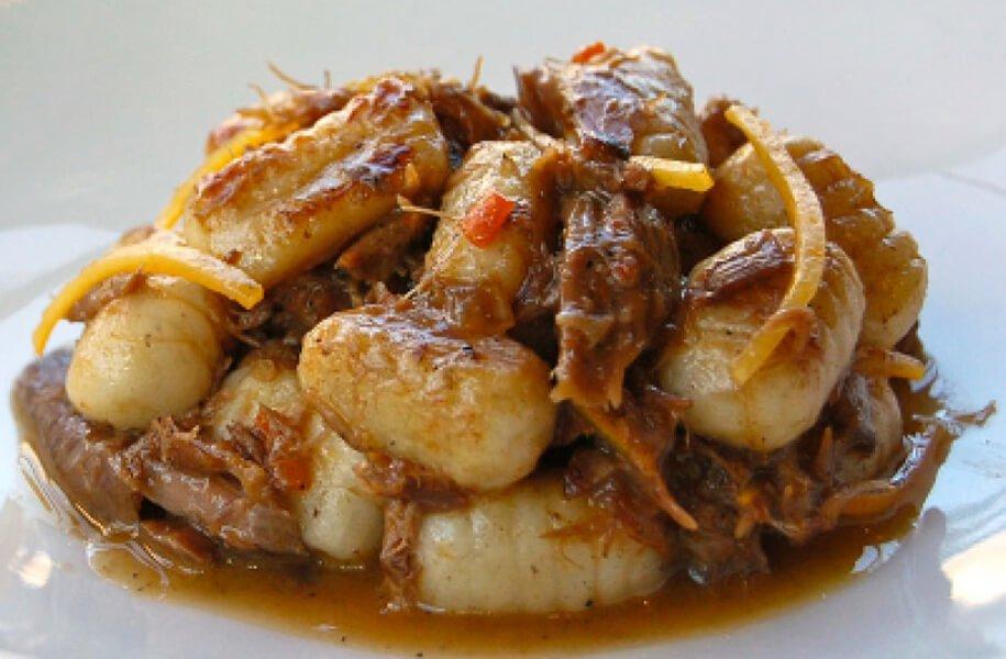 Italian Market Potato Gnocchi with Lamb Ragu and Pecorino Cheese Recipe