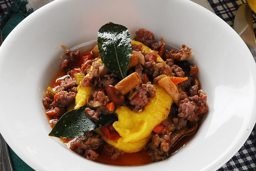 Polenta with Sausage Recipe