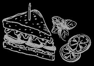Trattoria Sandwiche Graphic