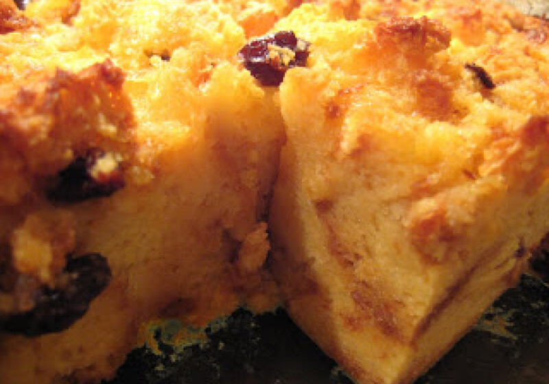 Italian Market Pandoro Bread Pudding Recipe